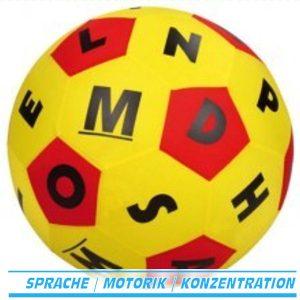Lernspielball Buchstaben
