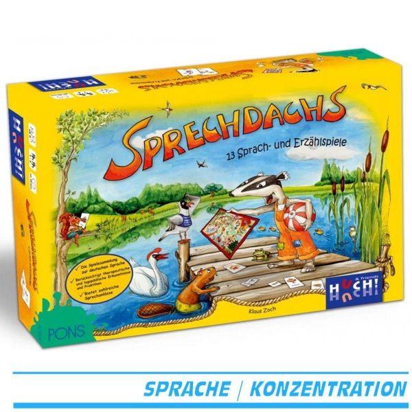 Huch & Friends 74030 - Sprechdachs - Lernspiel - Verpackung