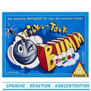 Tick Tack Bumm Junior von Piatnik