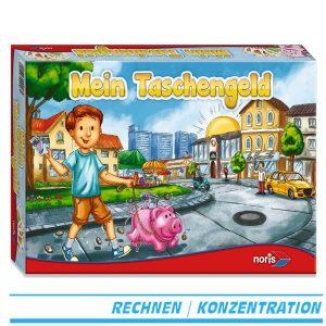 Noris Spiele 606076345 - Mein Taschengeld, Kinderspiel - Verpackung