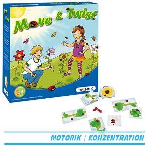 Beleduc 22421 - Move und Twist, Würfelspiel - Verpackung