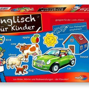 Englisch für Kinder 1. und 2. Klasse, Noris Spiele 606076362 - Verpackung