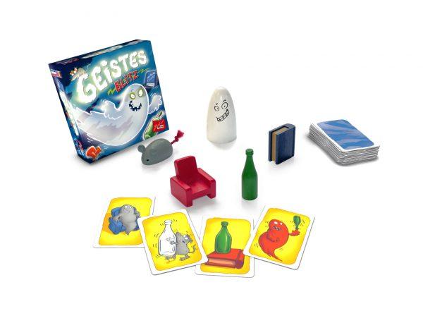 Kartenspiel Geistesblitz - Zoch 601129800 - Spielinhalt