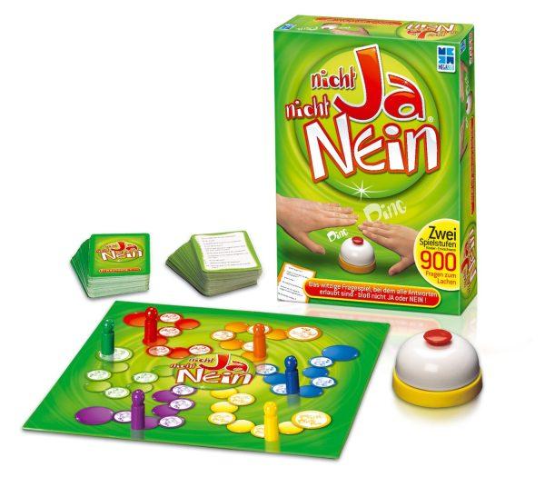 Megableu 678450 - Brettspiel: Nicht Ja, Nicht Nein - Teile