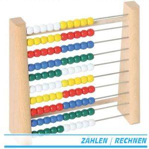 Rechenrahmen / Abacus / Zählrahmen für Vorschulkinder - Goki TT610