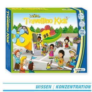 Beleduc One World - Travellino Kids 22703 - Brettspiel Verpackung