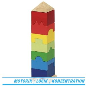 Stapelturm aus Holz von Goki