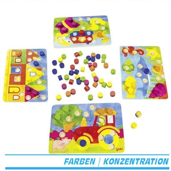 Farbwürfelspiel Goki 56705