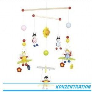 Mobile 3D Bienen & Käfer - Goki 52954