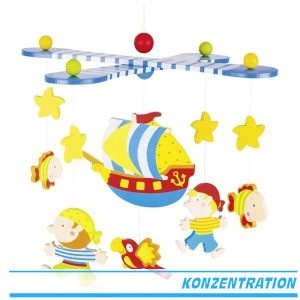Mobile Piraten - Goki 52911 - ab 0 jahren