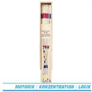 Mikadospiel im Holzkasten - Goki HS224