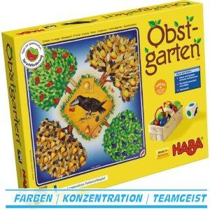 Obstgarten 4170 von Haba Familienspiel ab 3 Jahre made in Germany