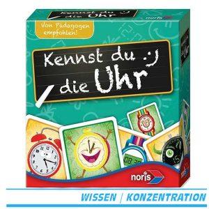 Kennst du die Uhr? - Lernspiel für Vorschulkinder von noris