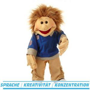 Erik Living Puppets handpuppe therapiepuppe bauchrednerpuppe