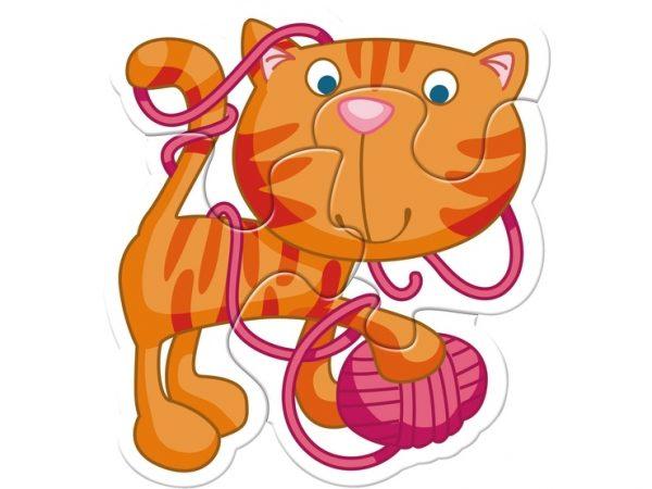 6 erste Puzzle Haustiere 3902 Von Haba ab 2 Jahre Katze