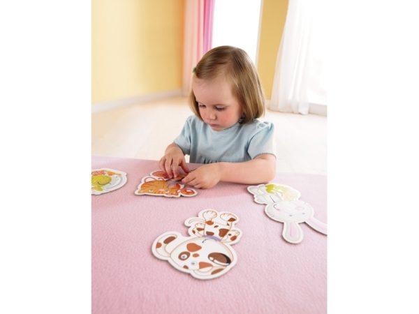 6 erste Puzzle Haustiere 3902 Von Haba ab 2 Jahre kind feinmotorik fördern puzzeln