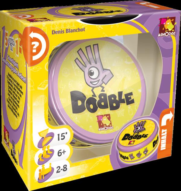 Dobble Spiel von Asmodee - Legespiel - 3D-Box