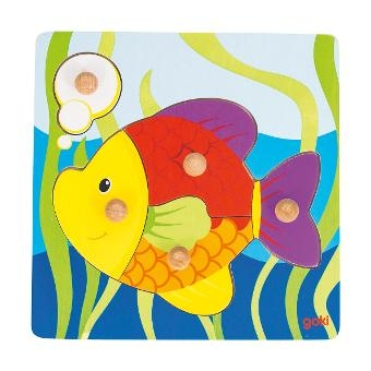 Steckpuzzle Fisch von Goki