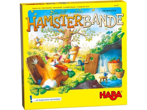 Hamsterbande ein Teamspiel ab 4 Jahre von Haba, rette alle Vorräte bevor der Winter einbricht