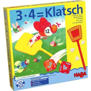 Haba 004538 - 3x4 = Klatsch