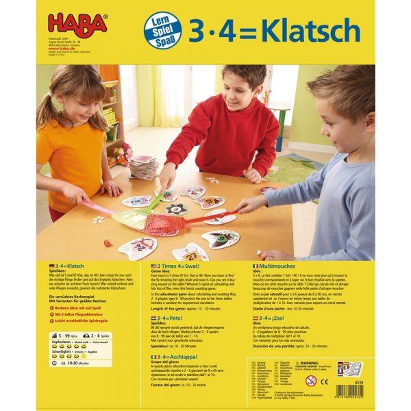 Haba 3 x 4 = Klatsch - 004538