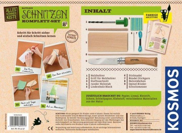 Schnitzen Komplettset-317