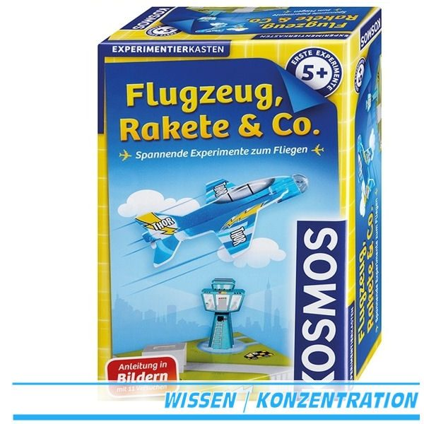Experiementierkasten Flugzeug, Rakete & Co. von Kosmos