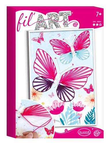 Fadenbild Schmetterling
