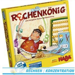 Rechenkönig 7145 von Haba eine königliche Rechen-Spielesammlung