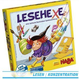 Lesehexe 7144 Haba eine verhexte Buchstaben-Spielesammlung