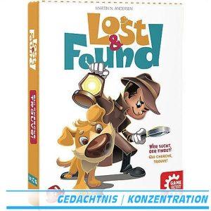 Lost & Found Kartenspiel von Game Factory ab 5 Jahre 646197
