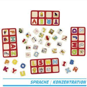 Mein ABC Spiel Lottospiel Lotto Buchstaben von Goki