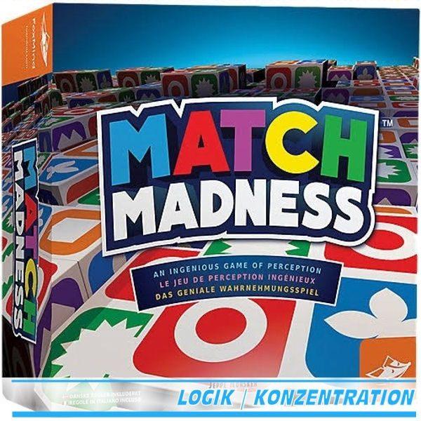 Match Madness Wahrnehmungsspiel
