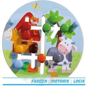 Haba Motorikbrett Bauernhof-Welt