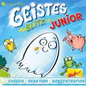 Geistesblitz Junior - Reaktionsspiel - Noris Spiele 601105119