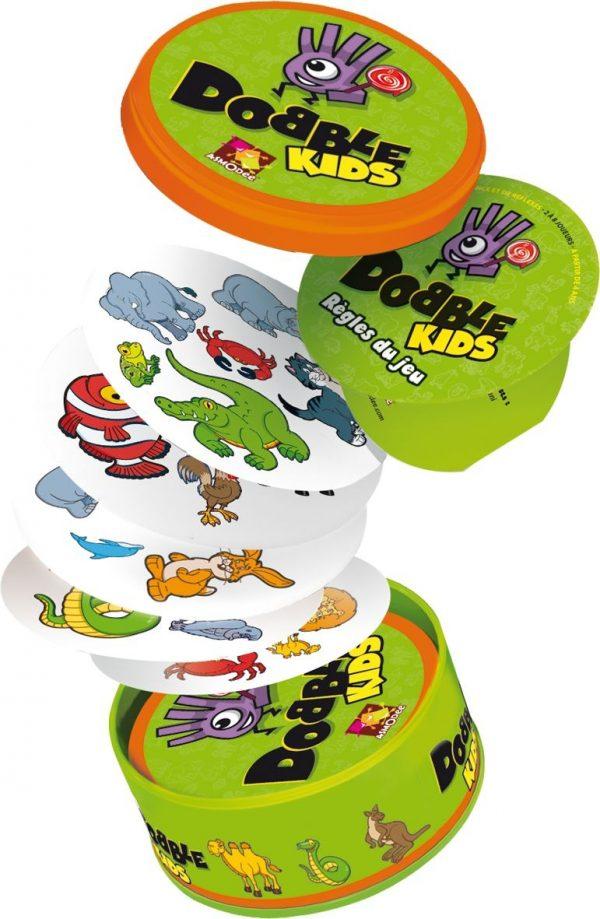 Dobble Kids - Asmodee 001769 - Legespiel - Inhalt