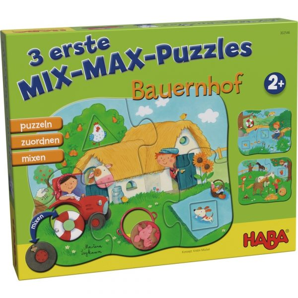 Mix-Max-Puzzle von Haba erstes Puzzle , 302546, 4010168224107