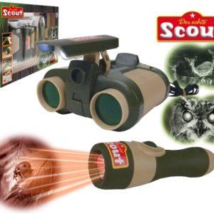 Scout 19304 - Nachtsichtfernglas & Taschenlampe