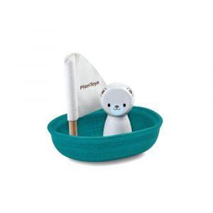 PlanToys 5712 - Segelboot Eisbär