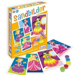 Sentosphere 3908980 - Sandbilder Prinzessin