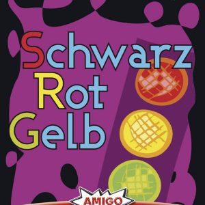 Amigo 01663 - Schwarz Rot Gelb