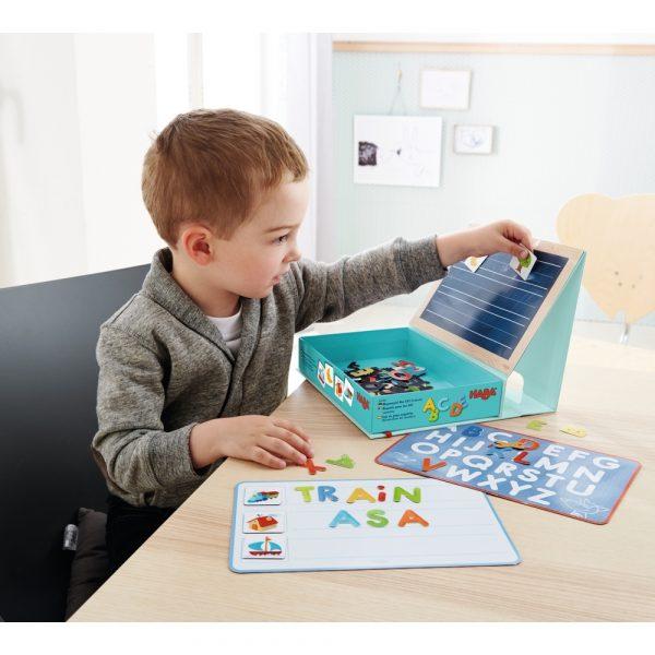 302590 Haba Magnetspiel-Box ABC-Entdecker