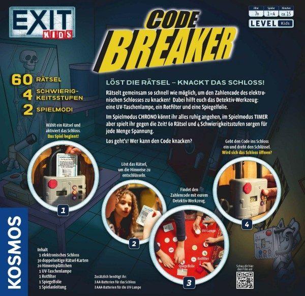 69792 Kosmos EXIT Kids - Code Breaker