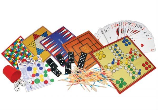 Holz-Spielesammlung 200 in 1 Natural Games 61101195