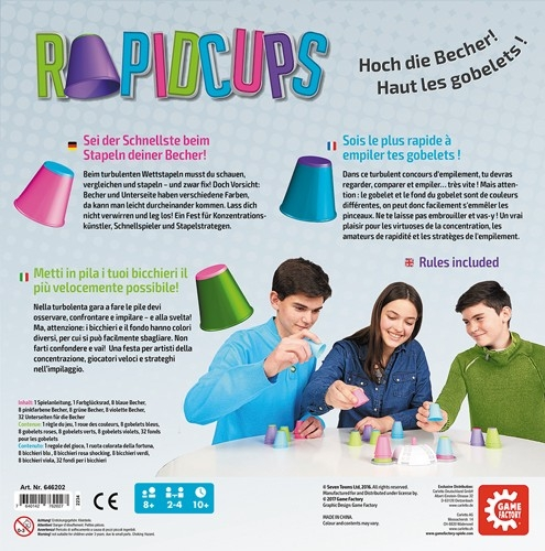 646202 Game Factory Rapid Cups