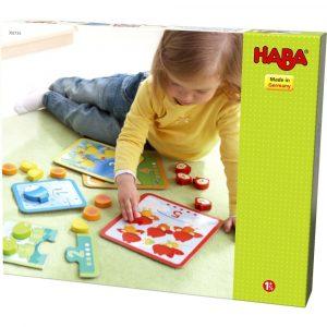 Haba 301530 - Zuordnungsspiel Tierischer Zählspaß