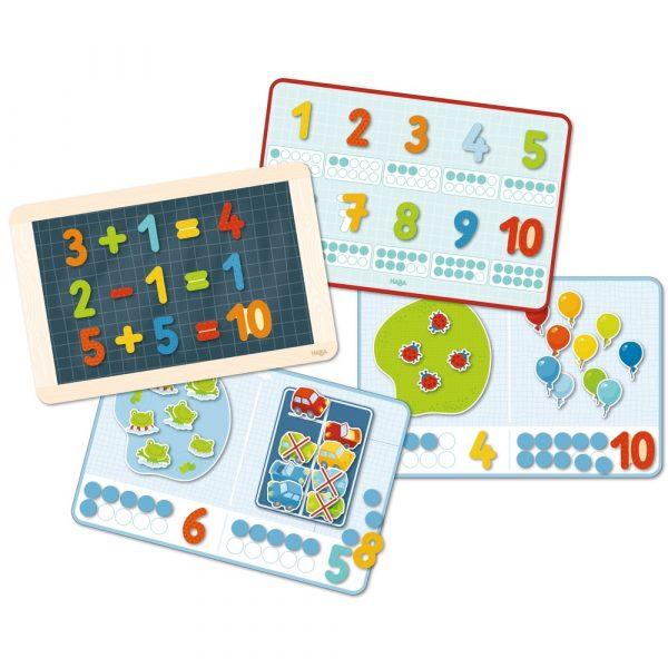 Magnetspiel-Box 1, 2, Zählerei Haba 302589