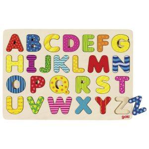Goki Einlegepuzzle Alphabet 57672