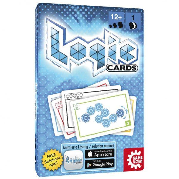 Logic cards, kartenspiel, game factory, knobelspiel, kartenspiel