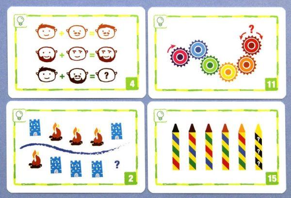 Knobelspiel, Logic Cards, Rätsel, Kartenspiel